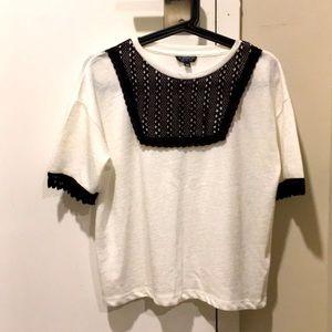 NWOT Topshop Shirt - White